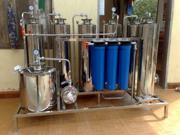 Máy Lọc Rượu 1 đơn Nguyên – Công Nghệ Nano Bạc